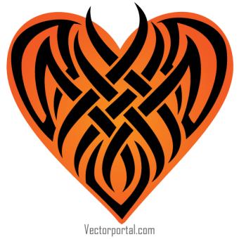 340x340 Tribal Tattoo Free Vector Designs 123freevectors
