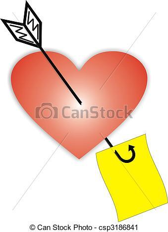 339x470 Heart, Dart, Love Clipart