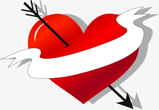 650x451 Heart Arrow Png Images Vectors And Psd Files Free Download