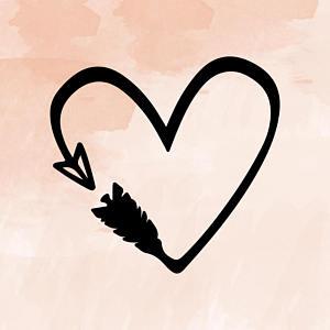 300x300 Hearts Arrows Love Etsy