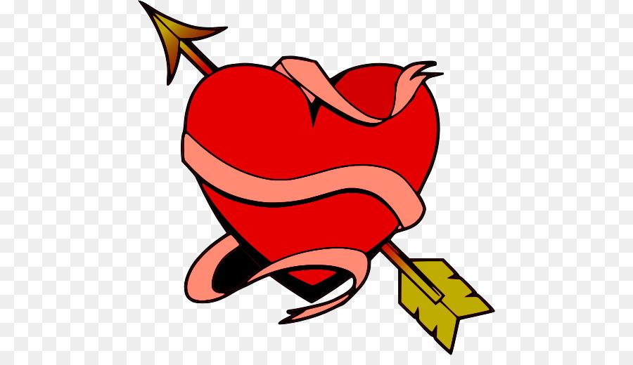 900x520 Youtube Arrow Heart Clip Art