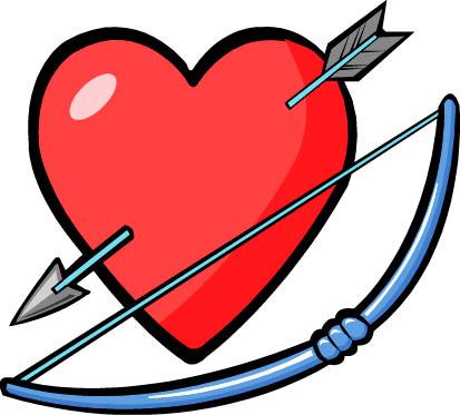 413x373 Cupid Clipart Bow And Arrow