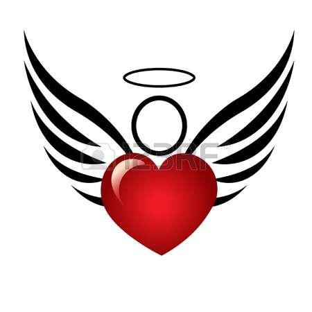 450x450 Heart Clipart Angel