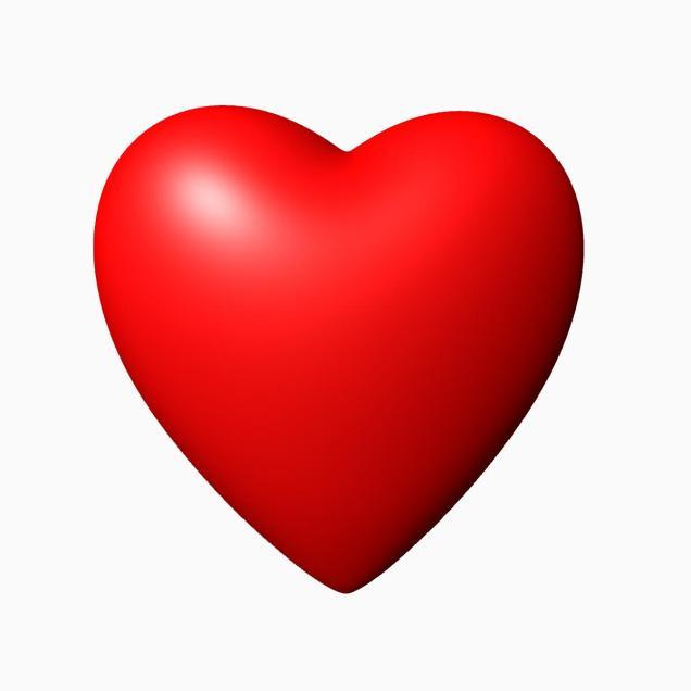 636x636 3d Heart Heart Angel Wings 3d Model Clip Art Library Free