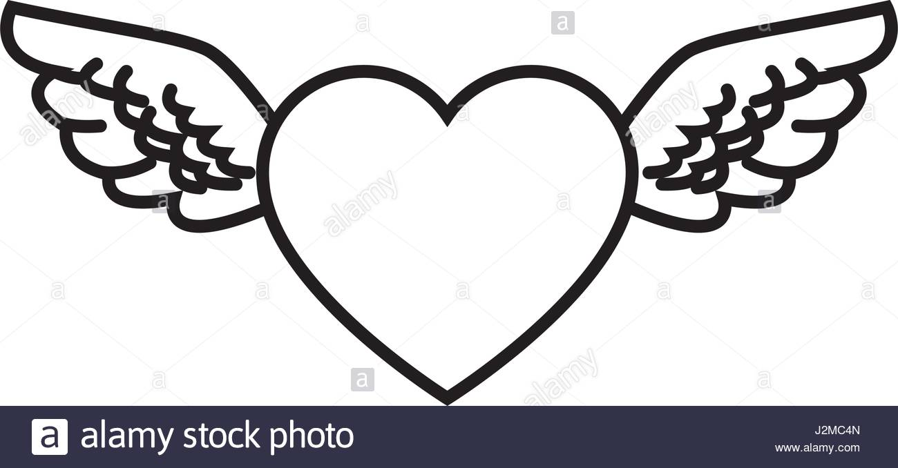 1300x678 Heart Wings Stock Photos Amp Heart Wings Stock Images