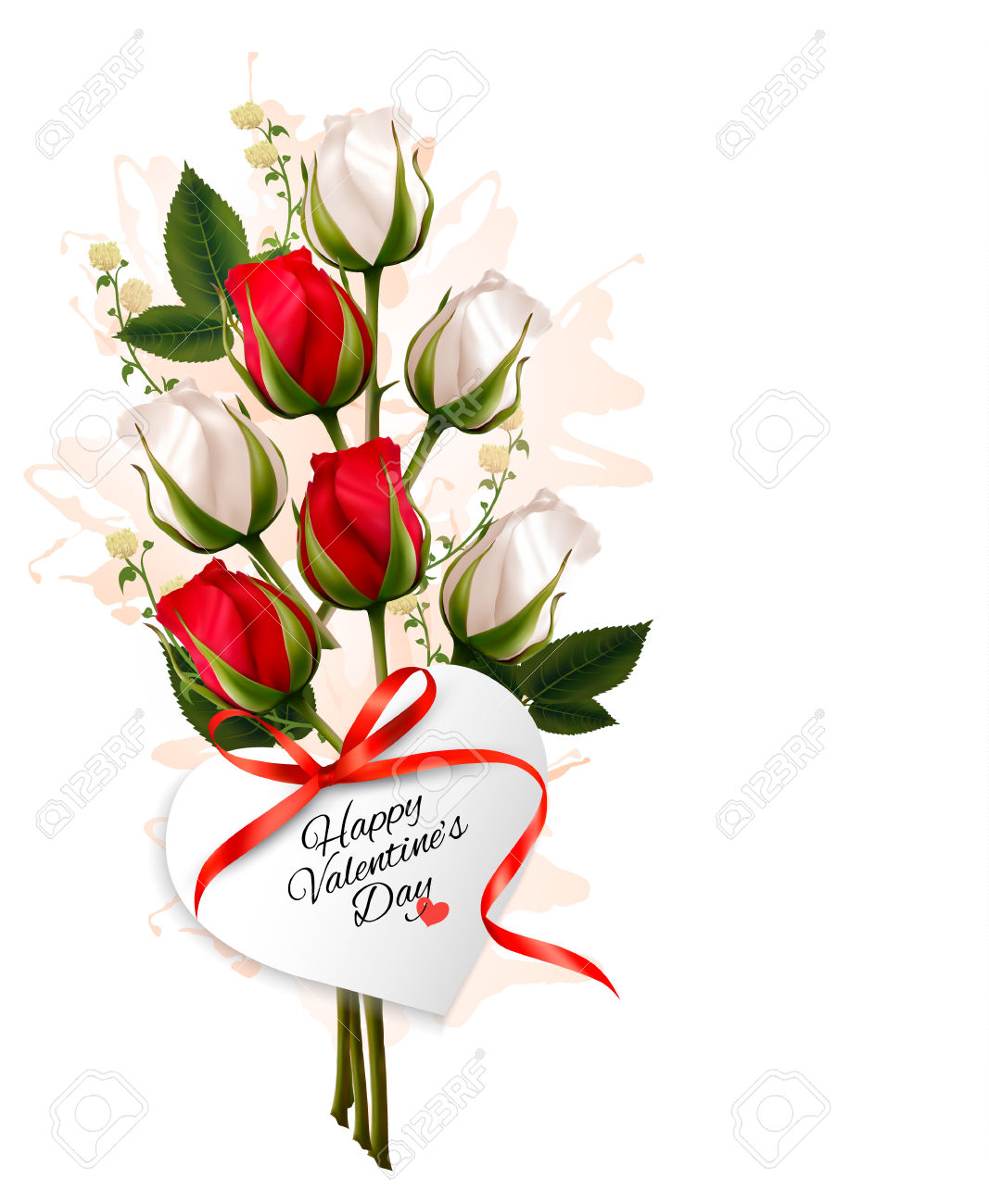 hearts and roses clipart at getdrawingscom free for