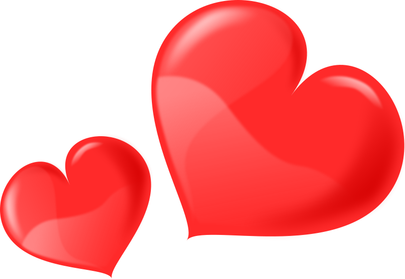 800x551 Hearts Clipart Bunch