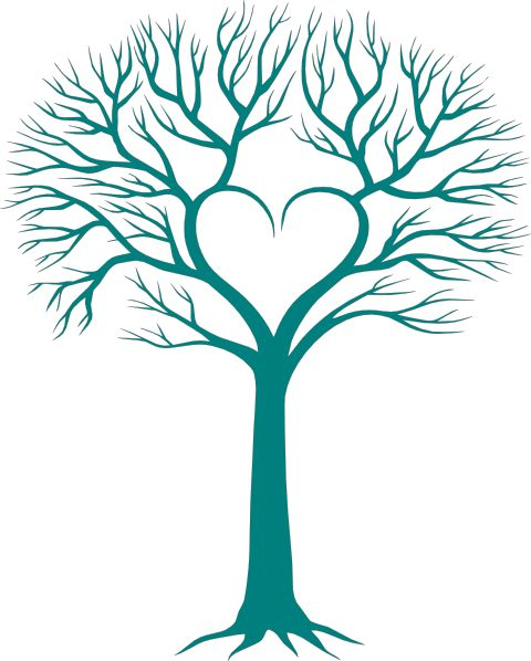 480x598 Hearts Clipart Heart Tree