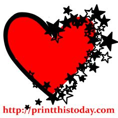 236x236 Like Idea Of Lines For Six Point Star Clipart Stars Hearts