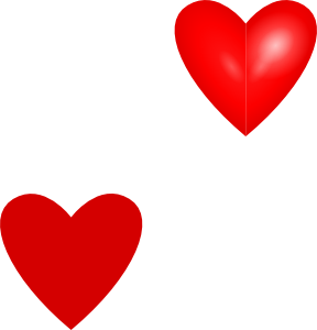 288x300 Love Hearts Clip Art
