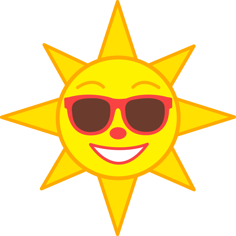 5590x5601 Clip Art Of Sun Free Heat Stroke Clipart Image 0515 1105 0313 2605