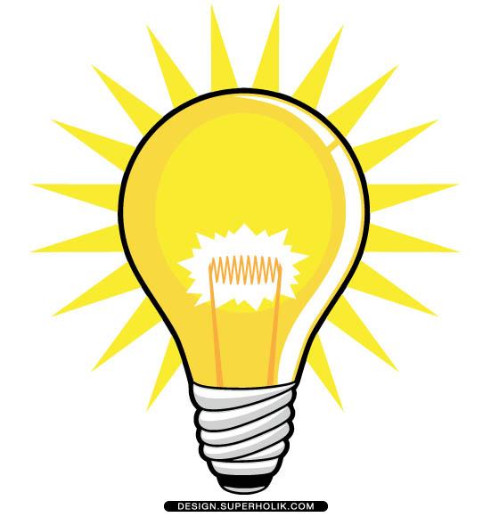 551x580 Heat Light Bulb Clipart