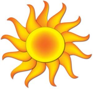 300x288 Hot Sun Clipart Clipartlook