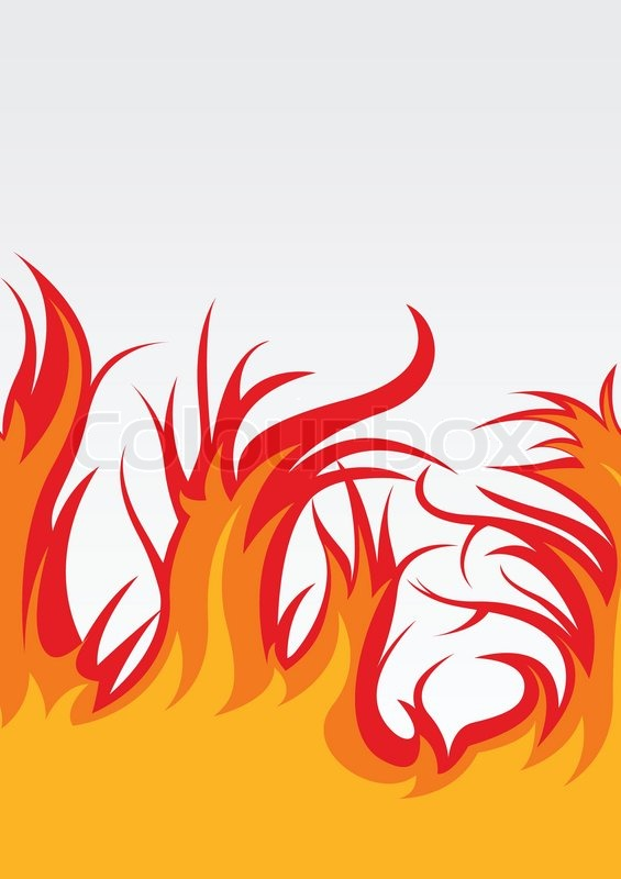 565x800 Vector Background With Fire Clip Art Stock Vector Colourbox