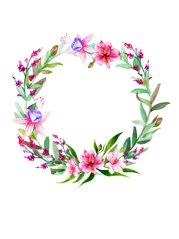 736x981 280 Best Floral Circles Images On Invitations, Tags