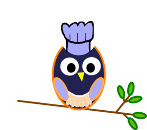 297x264 Blue Owl Clip Art