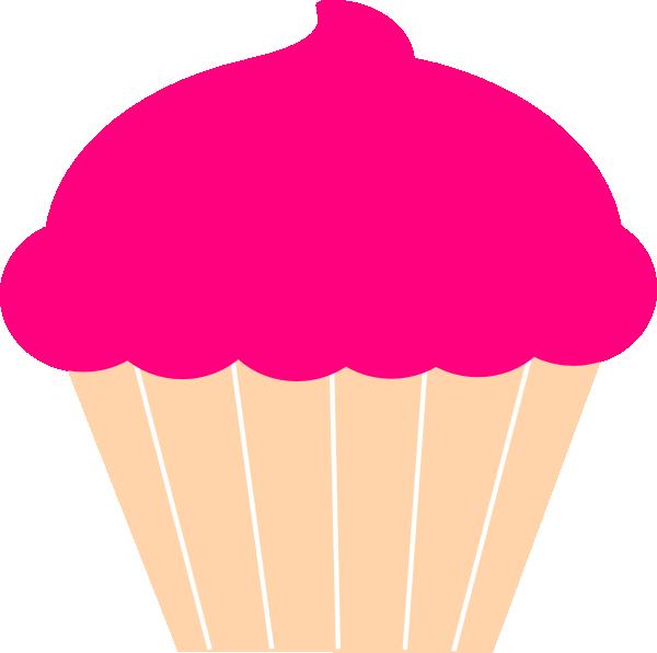 600x596 Cupcake Clip Art