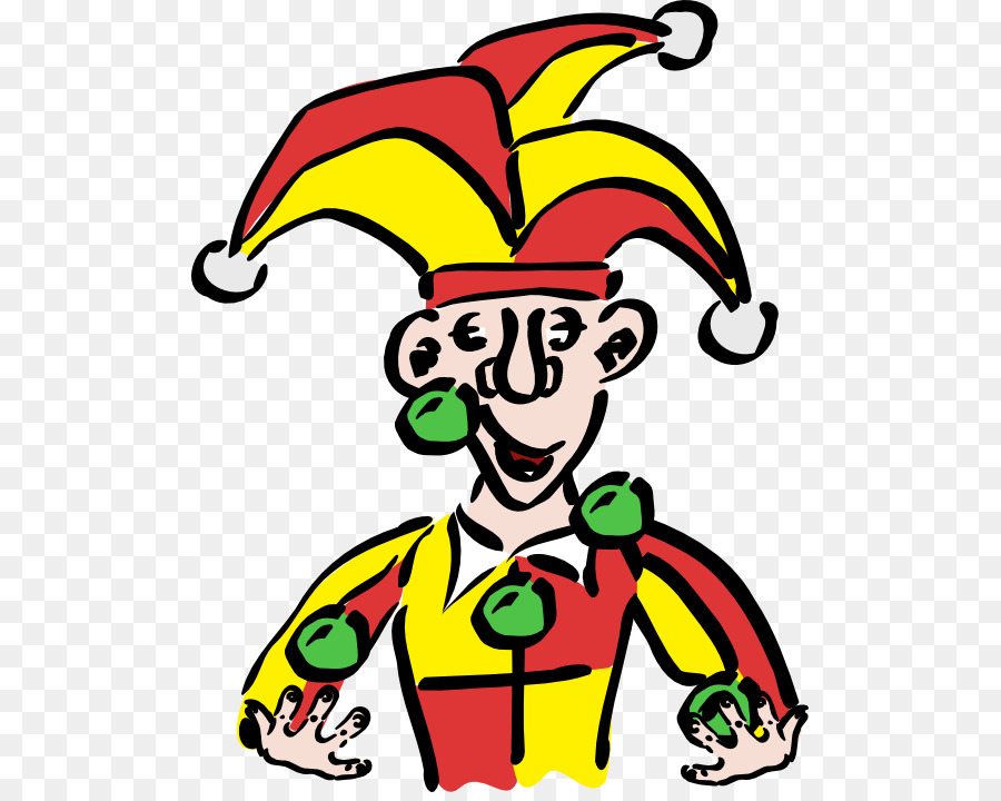 900x720 Joker Middle Ages Jester Clip Art