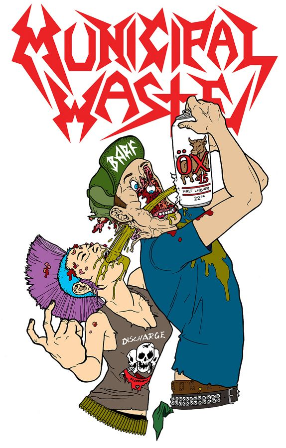 574x900 58 Best Municipal Waste Images On Heavy Metal, Heavy