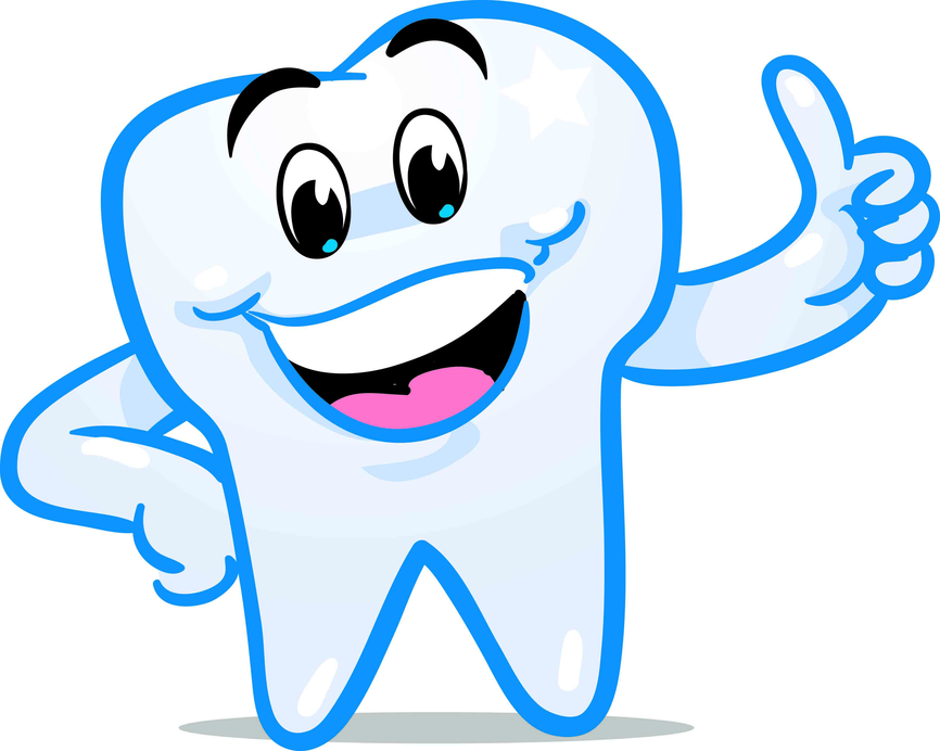 866x692 Tooth Clipart
