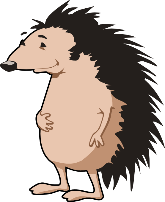 555x678 Hedgehog Art 555px.png Clipart Panda