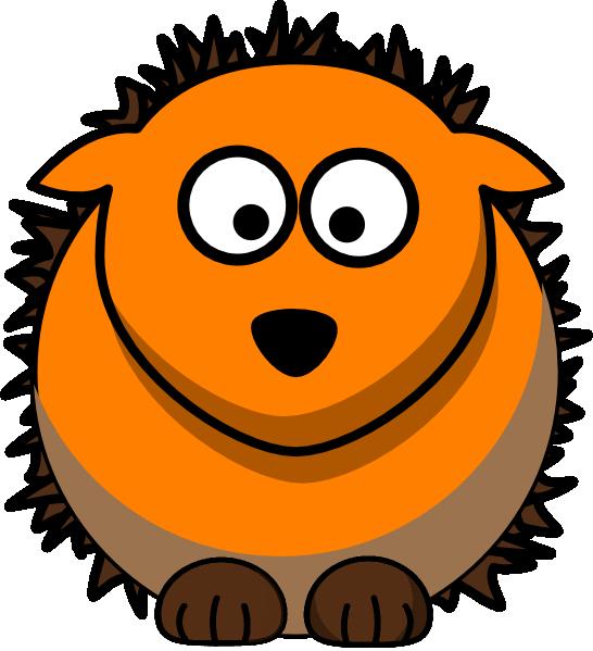 546x599 Hedgehog Clip Art