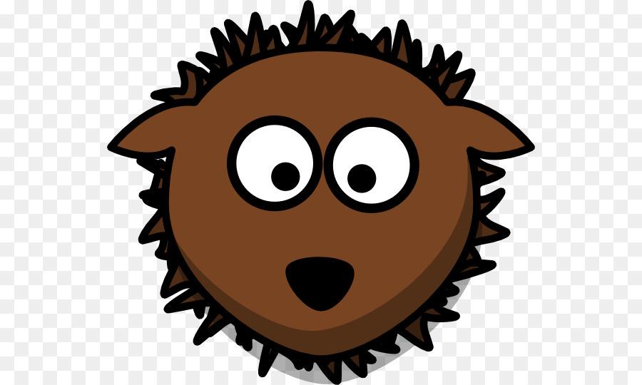 900x540 Hedgehog Smiley Clip Art