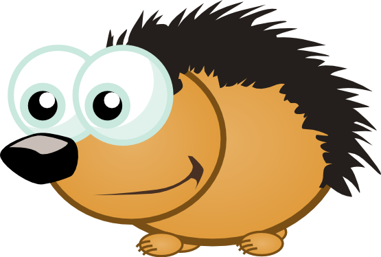 555x374 Small Hedgehog Art 555px.png Clipart Panda