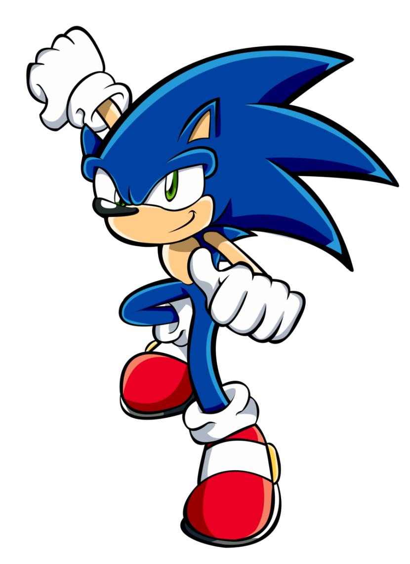830x1143 Sonic Clip Art