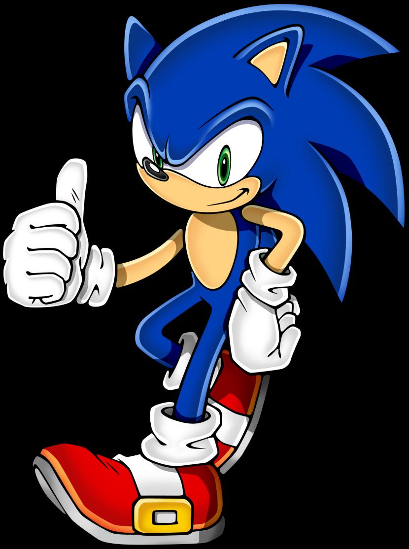 830x1114 Sonic Clip Art 2