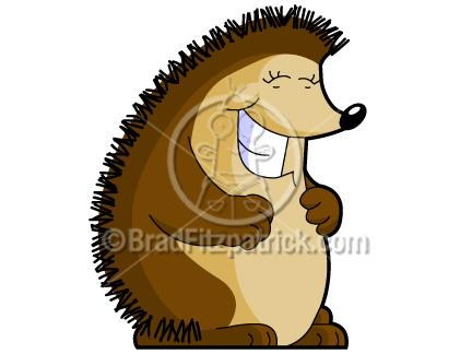 432x324 Cartoon Hedgehog Clip Art Hedgehog Clipart Graphics Vector
