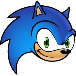256x256 Sonic The Hedgehog Clipart Free
