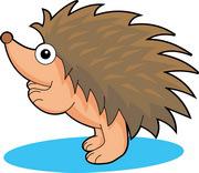 180x156 Free Hedgehog Clipart