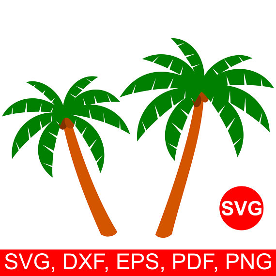 570x570 Palm Tree Svg File For Cricut Palm Tree Clipart Palm Tree