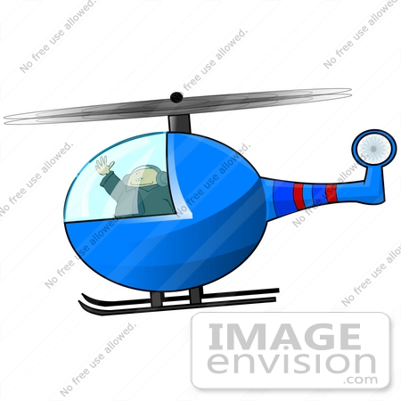 450x450 Clipart Of A Man Flying A Helicopter