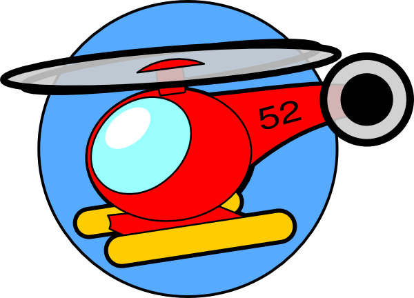 600x432 Helicopter Clipart Free