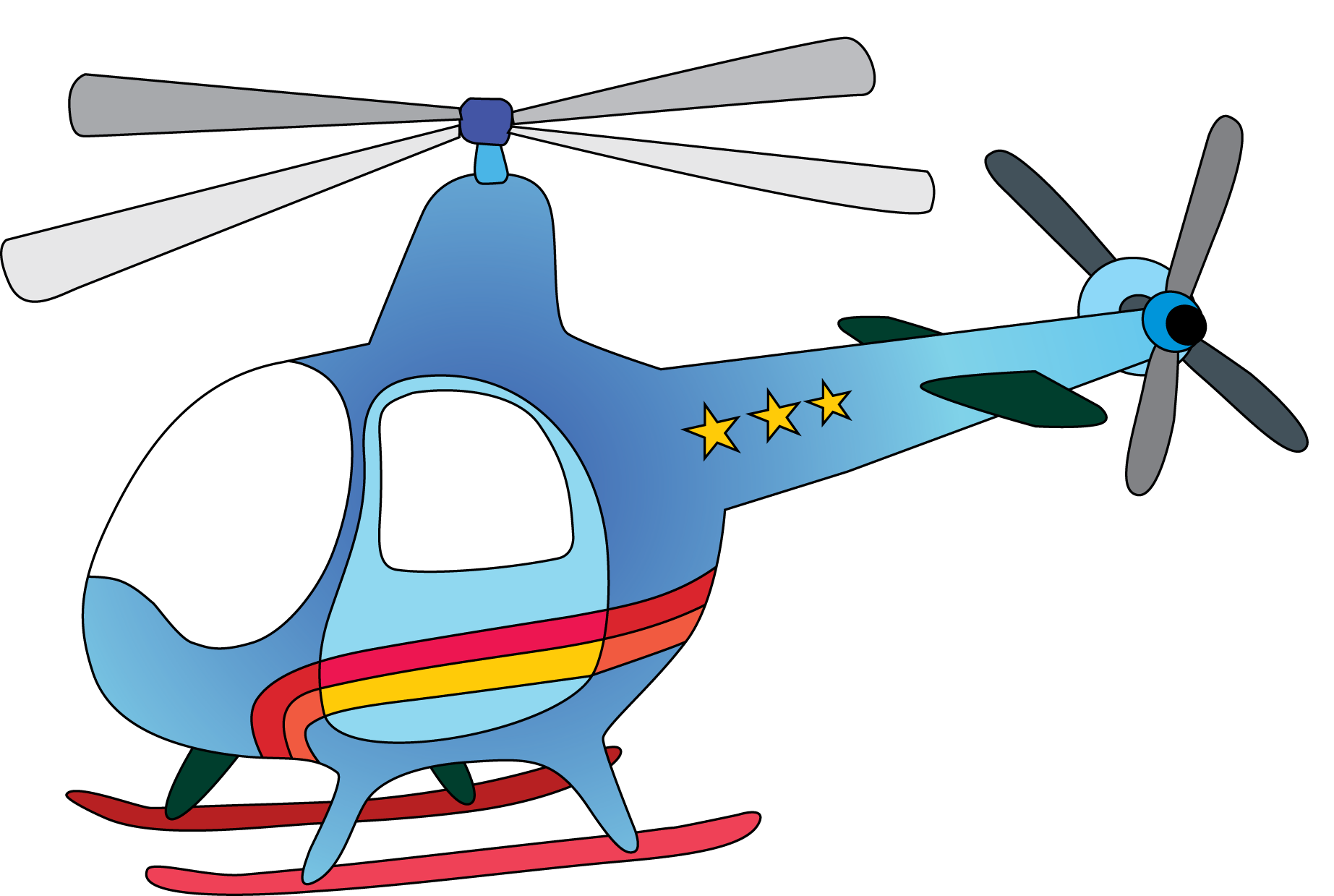1845x1239 Helicopter Clip Art Clipart Panda