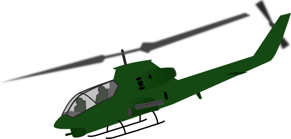 600x287 Helicopter Clip Art Free Vector 4vector