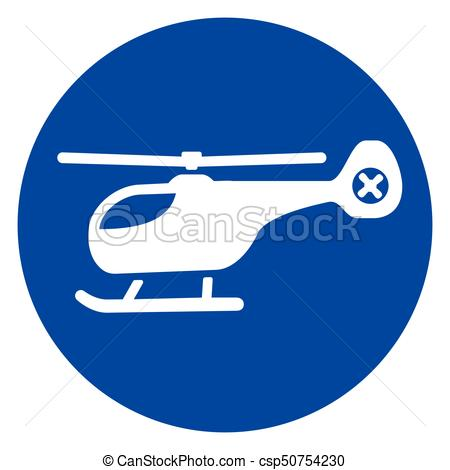 450x470 Illustration Of Helicopter Blue Circle Icon Vectors