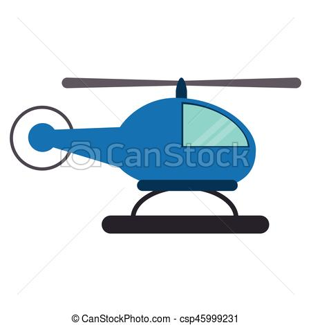 450x470 Blue Helicopter Transport Fly Vector Illustration Eps 10 Vectors