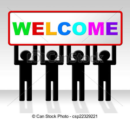 450x410 Welcome Hello Means How Are You And Arrival. Hello Welcome Clip