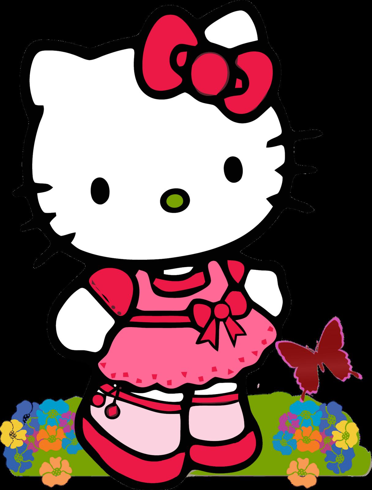 1215x1600 Free Hello Kitty Clipart Image