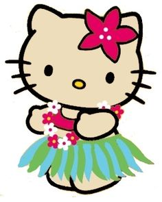 236x295 Hawaiian Hello Kitty Clip Art