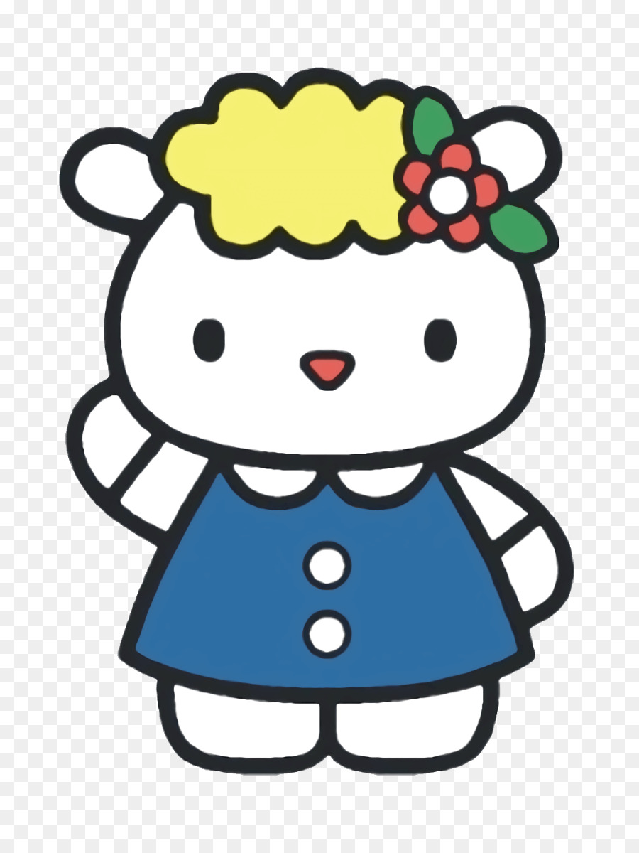 900x1200 Hello Kitty Best Friends Coloring Book Sanrio