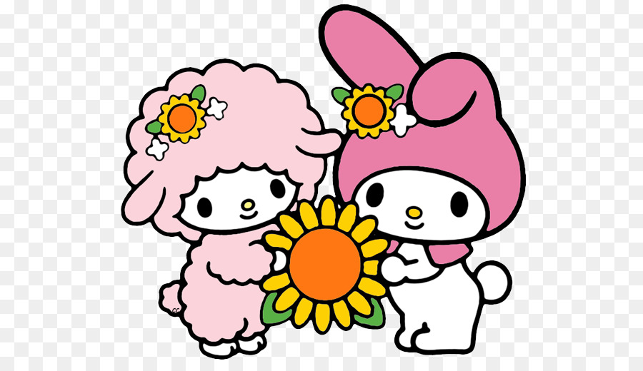 900x520 My Melody Hello Kitty Wish Birthday Clip Art