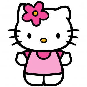300x300 Valentine Clip Art Black And White Hello Kitty Shopatcloth