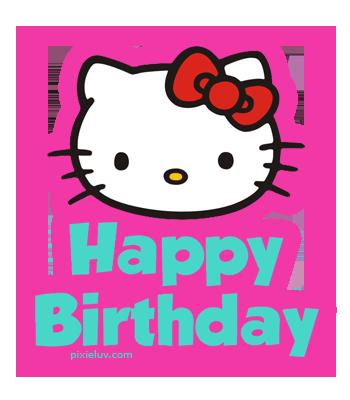 350x400 Hello Kitty Birthday Clipart Pin Marina On Hello Kitty Ii