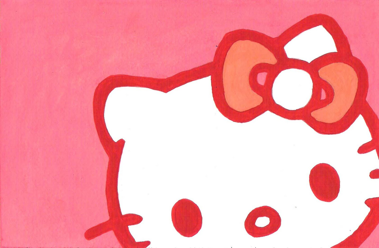 Hello Kitty Black And White Clipart At Getdrawings Com Free For