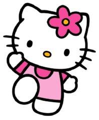 197x240 Hello Kitty Clipart Black And White Clipart Panda
