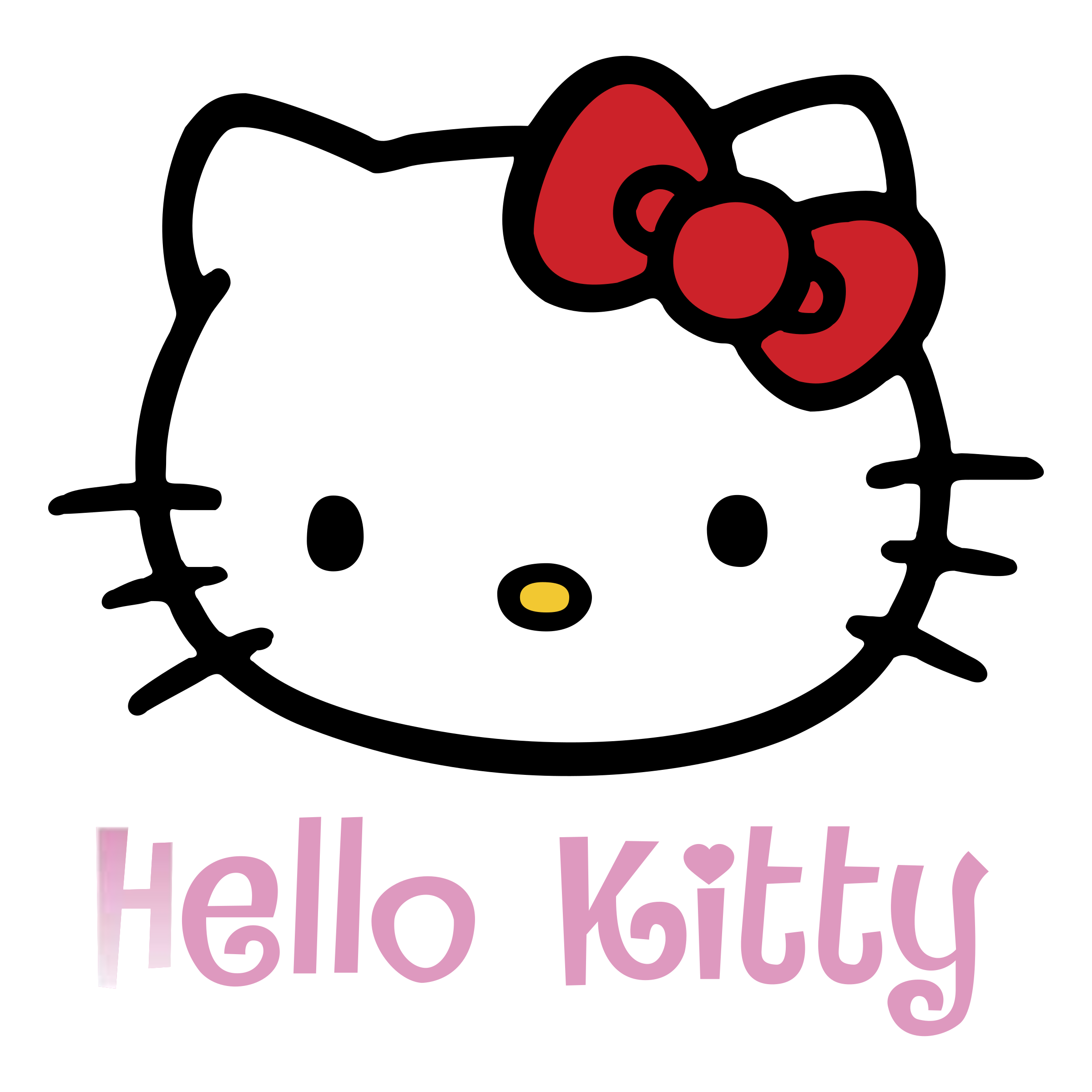 2400x2400 Hello Kitty Logo Png Transparent Amp Svg Vector